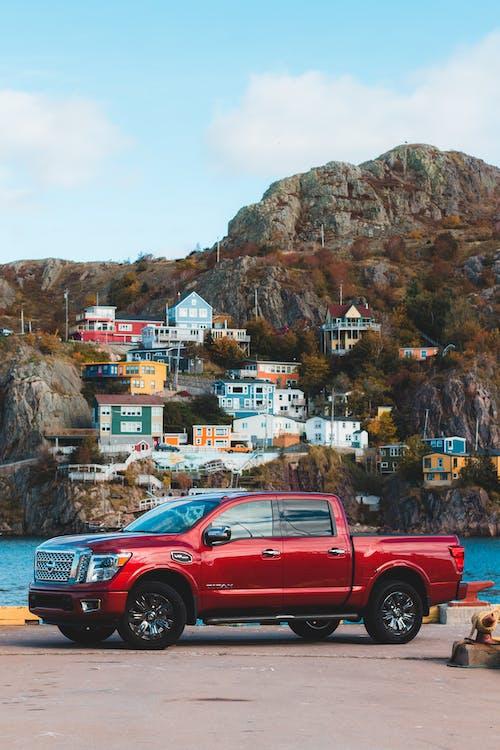 Kostenloses Stock Foto zu abholen, auto, berg