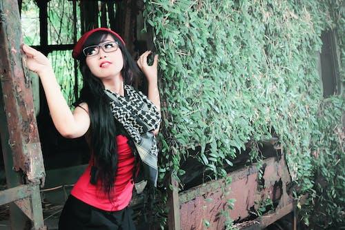 Foto d'estoc gratuïta de adult, asiàtica, bonic, bufó