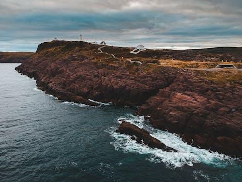 Gratis arkivbilde med bølger, bukt, daggry, hav
