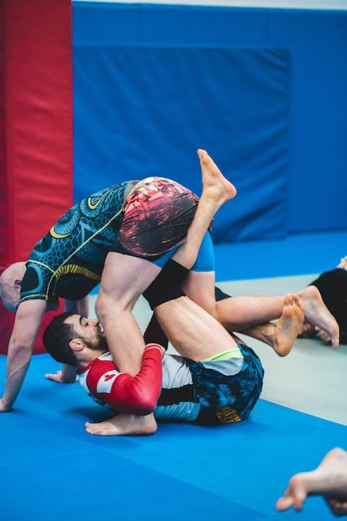 Men Doing Martial Arts