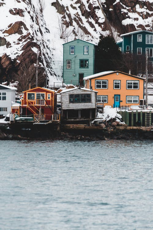 Houses Near Body of Water