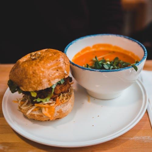 Fotos de stock gratuitas de almuerzo, apetitoso, arreglo, berro