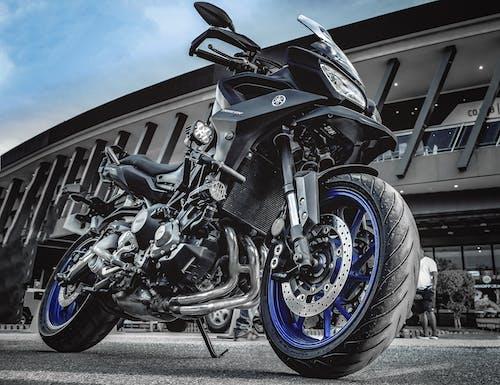 Free stock photo of awesome, bigbike, bike, blue