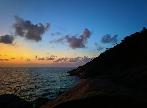 Бесплатное стоковое фото с безмятежный, восход, гора, закат