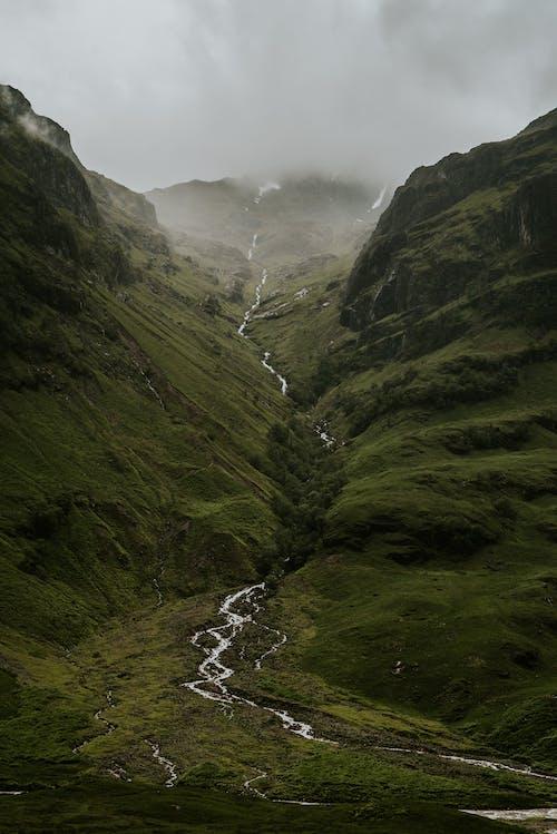 강, 경치, 고원, 골짜기의 무료 스톡 사진