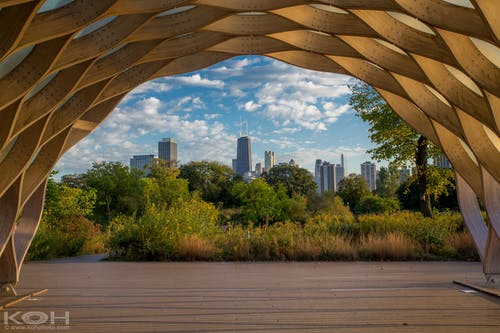 Free stock photo of art, chicago, cityscape, johm hancock