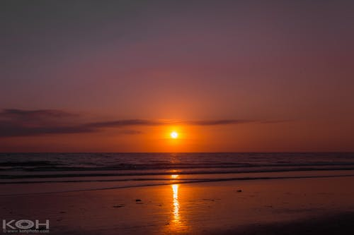 Free stock photo of beach, getaway, ocean, reflection