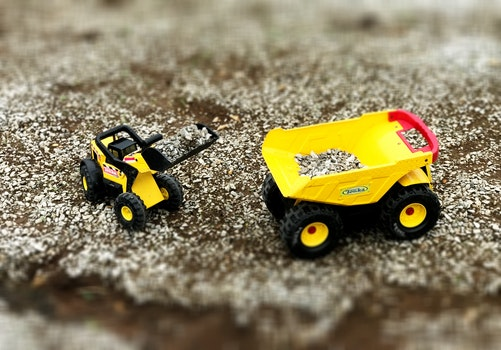 Free stock photo of construction, toys