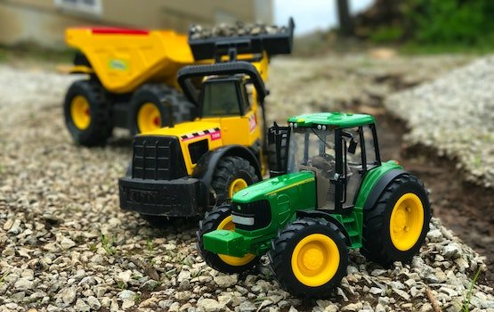 Free stock photo of construction, farm, tractor, John Deer