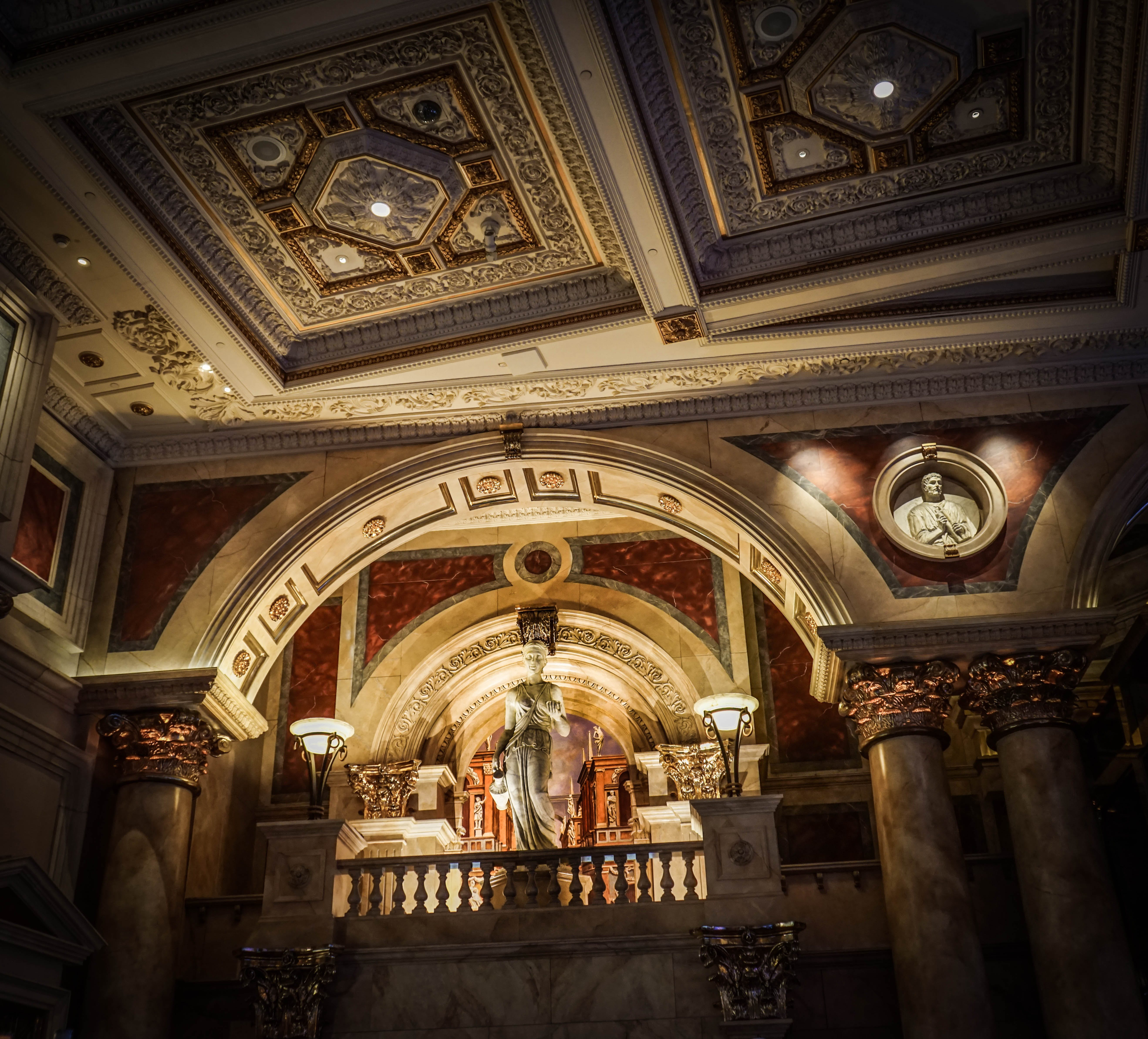 architecture, attraction, caesars palace