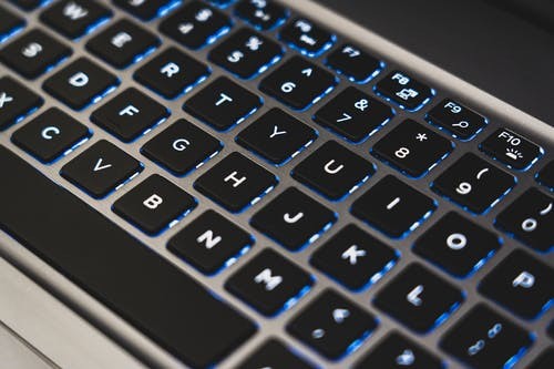 Close-Up Photo of Laptop Keyboard