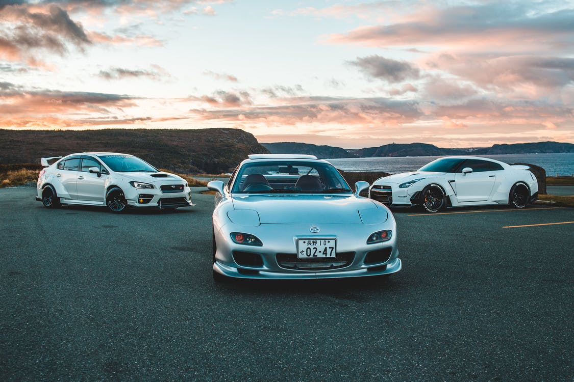 Photo Of Cars Parked During Dawn