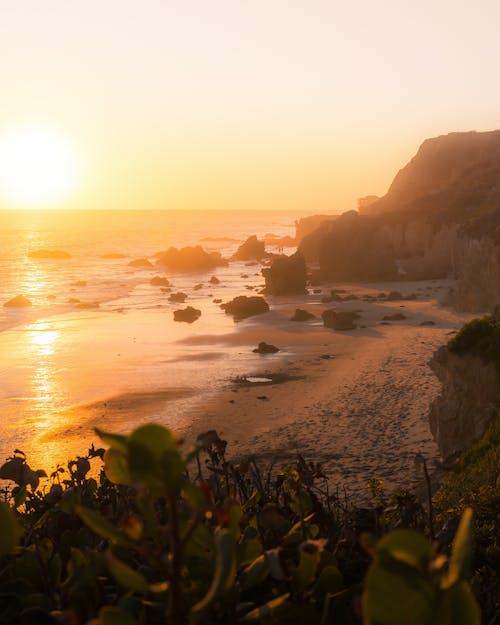Δωρεάν στοκ φωτογραφιών με ακτή, ακτή του ωκεανού, ακτίνα ήλιου