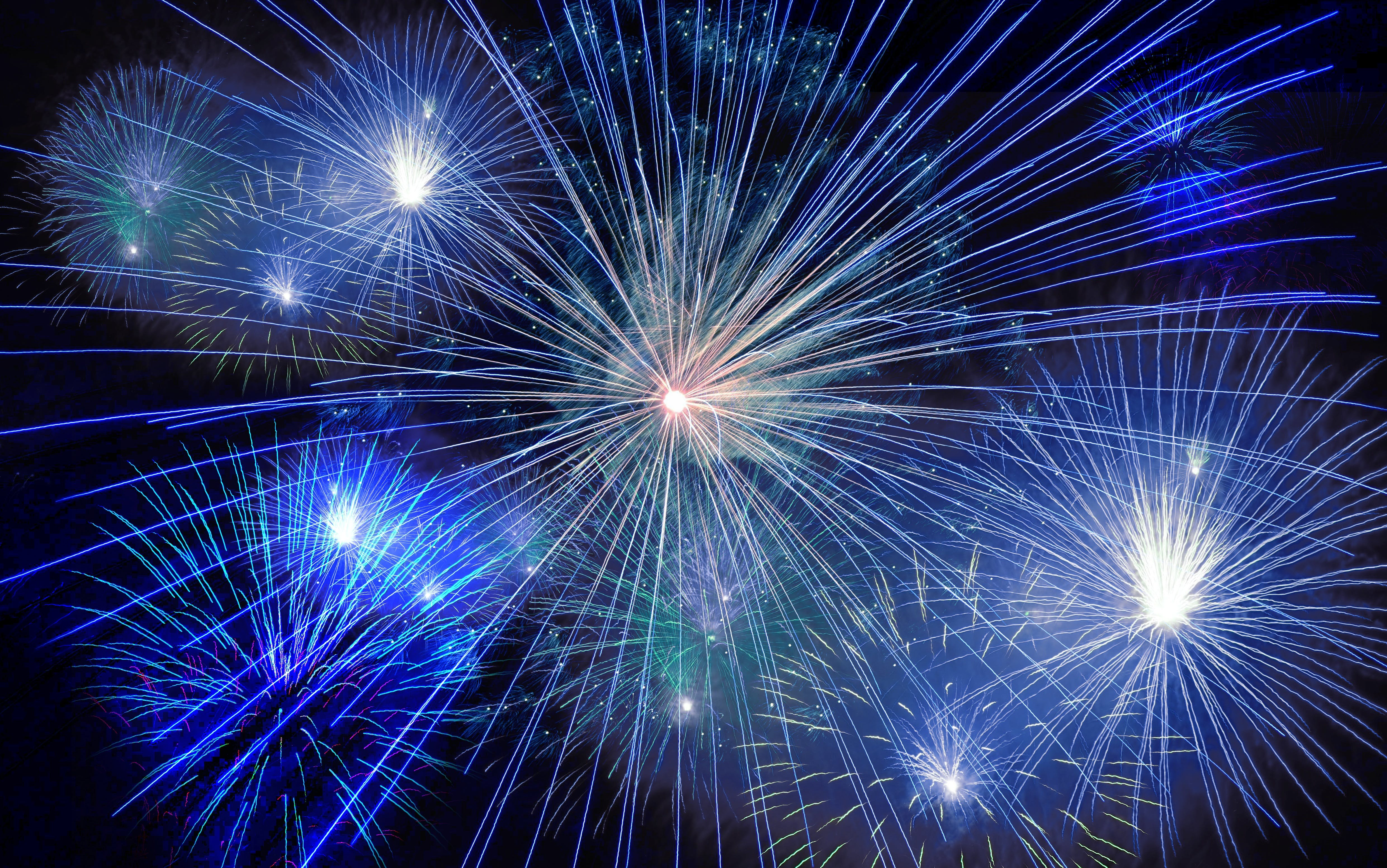 Timelapse Photography of Fireworks