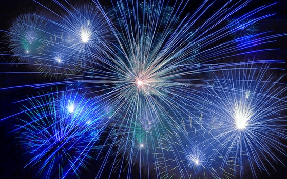 Free stock photo of new year's eve, fireworks, sylvester, sparks