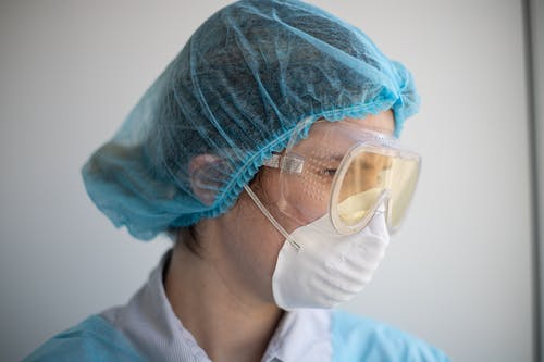 Photo of Person Wearing Face Mask