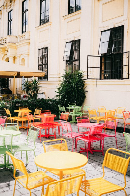 Colorful Table and Chairs Set