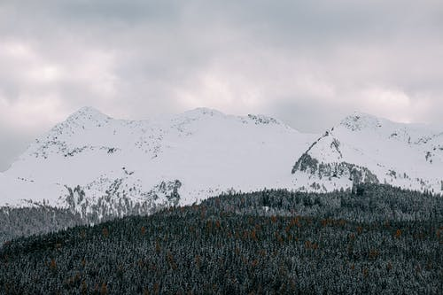 Photo Of Snow Covered Mountains During Daytime