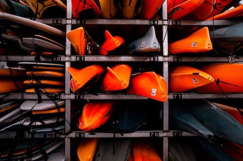 Fotos de stock gratuitas de apilar, barcos, color