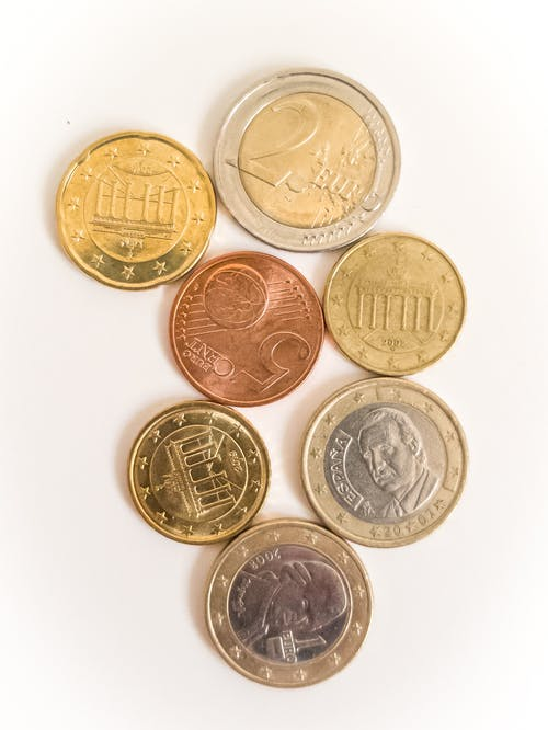 Close-Up Photo Of Coins