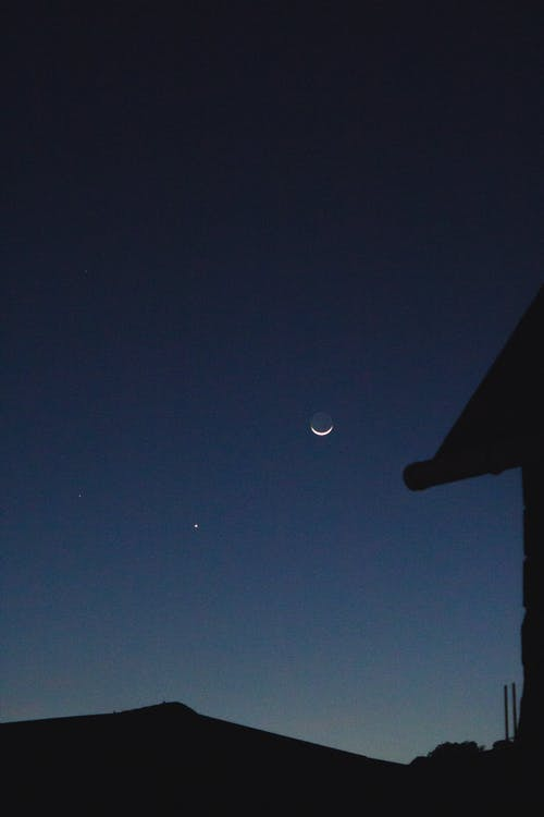 Free stock photo of dawn, evening, heaven, luna