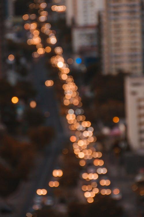 Ilmainen kuvapankkikuva tunnisteilla bokeh, epätarkka, kaupungin valot, kiiltävä