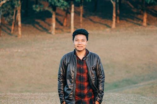 Photo Of Man Wearing Black Leather Jacket