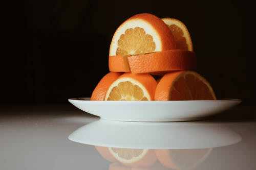 Close-Up Photo Of Sliced Oranges