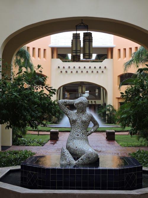 Mermaid Statue Fountain