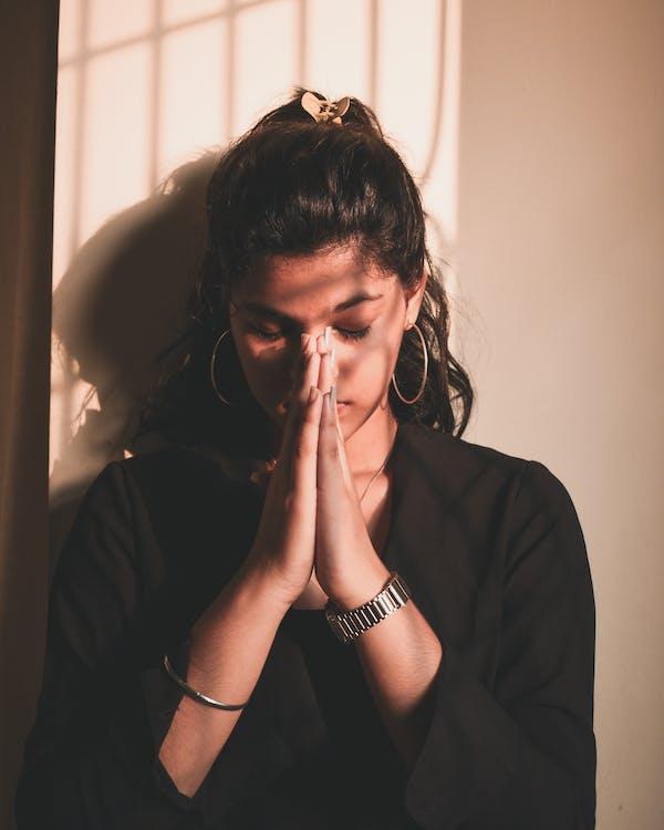 Photo Of Woman Praying