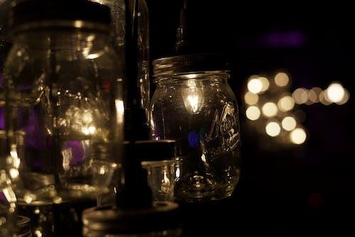 Free stock photo of bokeh, jar lights