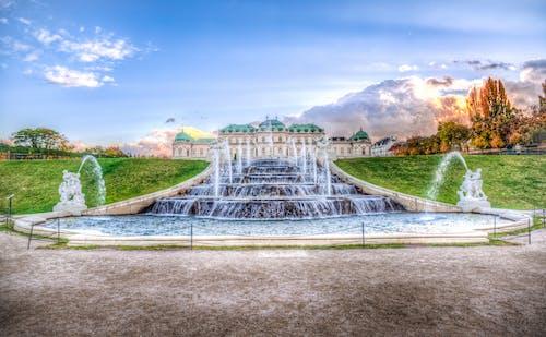 のどか, 噴水, 宮殿, 平和的の無料の写真素材