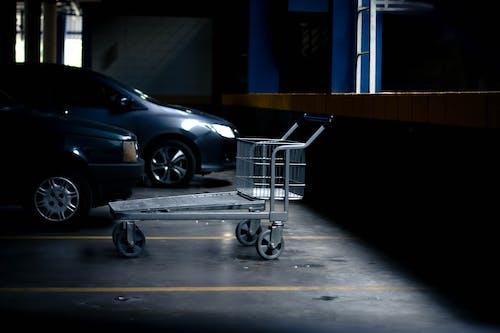 Ingyenes stockfotó akció, autók, bevásárlókocsi, fény témában