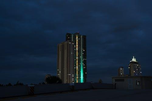 Free stock photo of building, city night, dark, Dark Sky