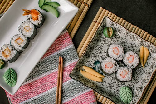 Photo Of Sushi On Plate