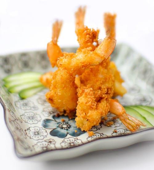 Free stock photo of \shrimp tempura, Japanese, japanese food, shrimp