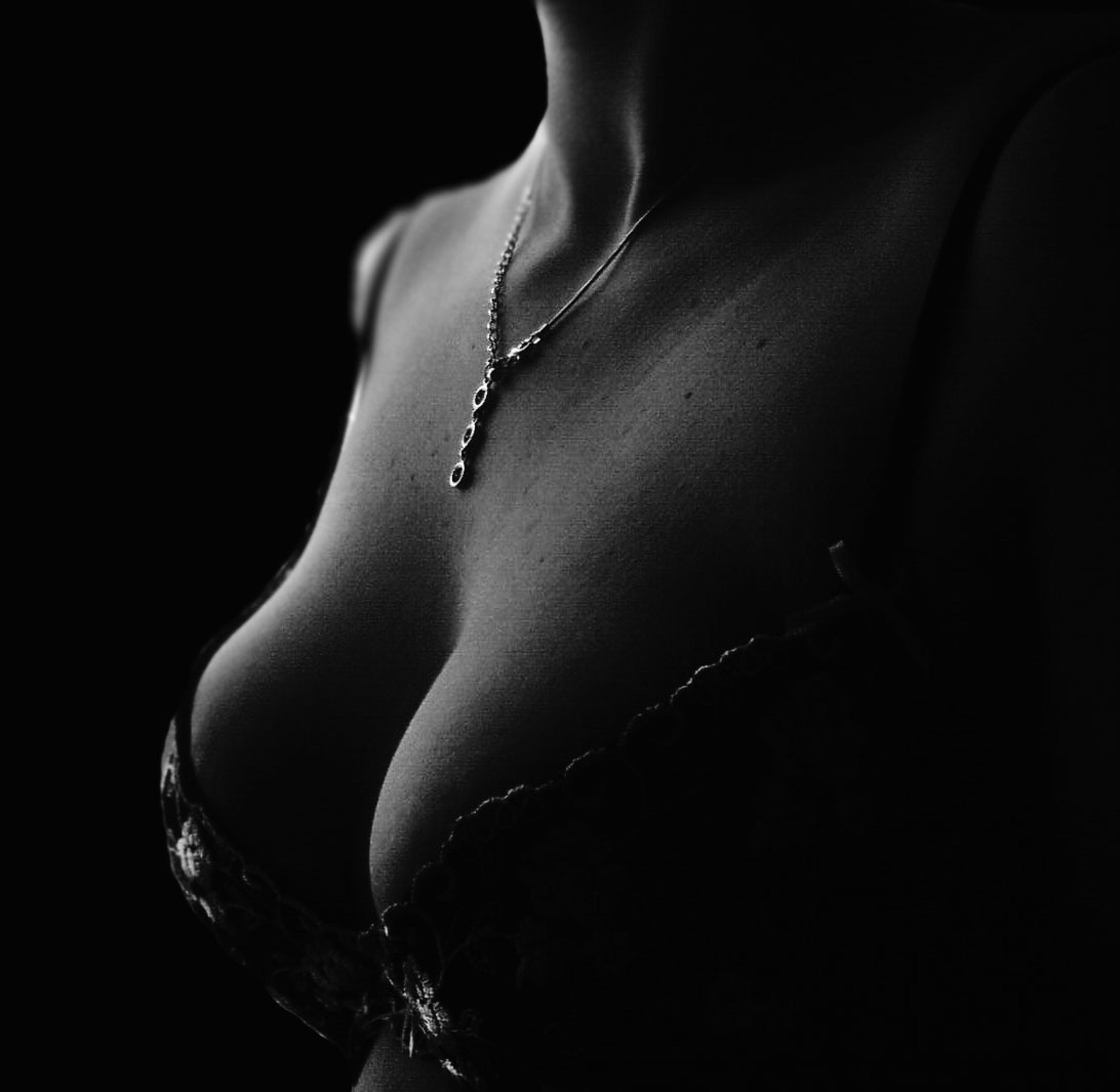 Free stock photo of woman, body, chain, beauty