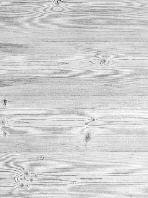 Grayscale Photo of Wood Plank