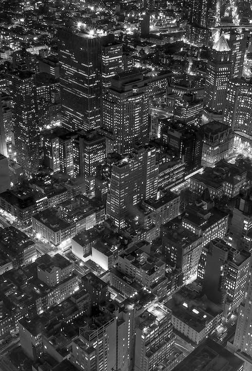 Ảnh lưu trữ miễn phí về bắn góc cao, bắn từ trên không, các tòa nhà, cảnh quan thành phố