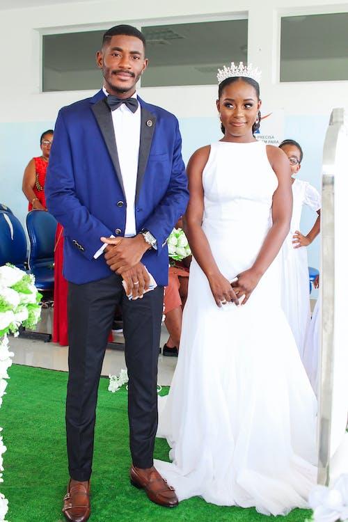 Kostnadsfri bild av casal de noivos, casamento