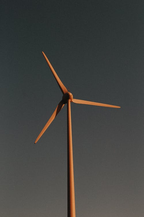 Brown Wind Mill
