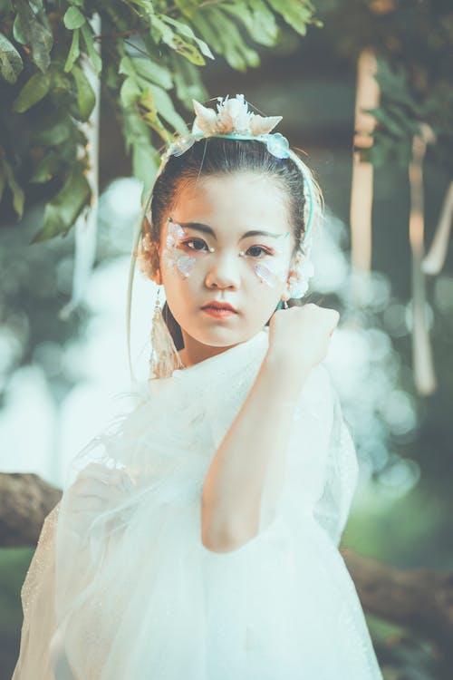 亞洲女孩, 人, 光鮮亮麗, 女孩 的 免费素材图片