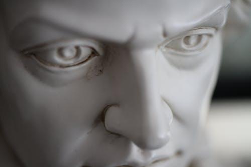 A Sculpture of A Head Figure