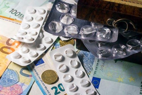 White Round Medication Pill Blister Pack