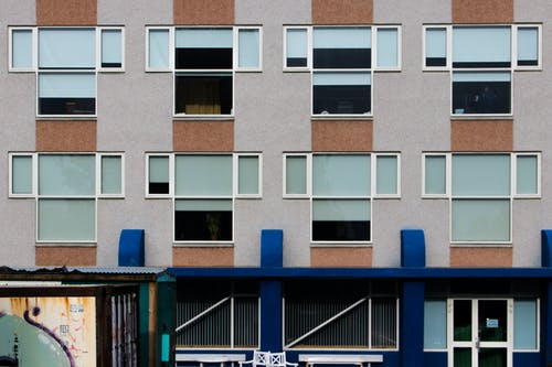 Free stock photo of appartment, block, flats
