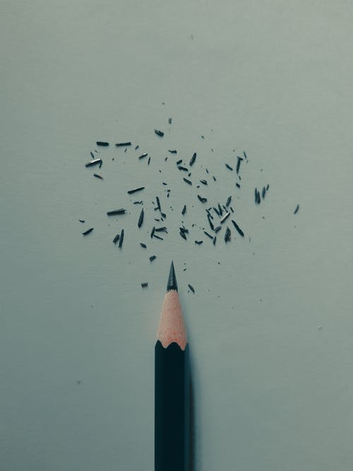 Sharpened Black Pencil