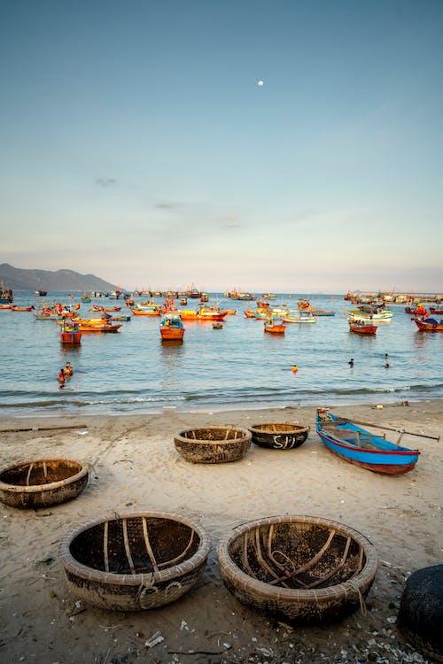 Boats on Sea Shore