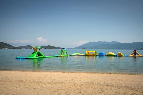 Green and Yellow Water Playground