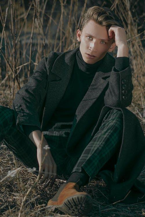 おとこ, コート, ジャケット, スタイルの無料の写真素材