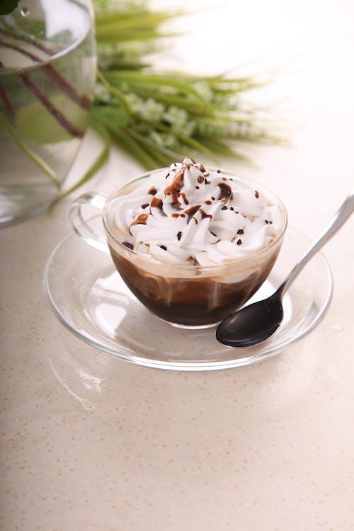 Gratis stockfoto met drinken, drinkglas, ijsje, koffie
